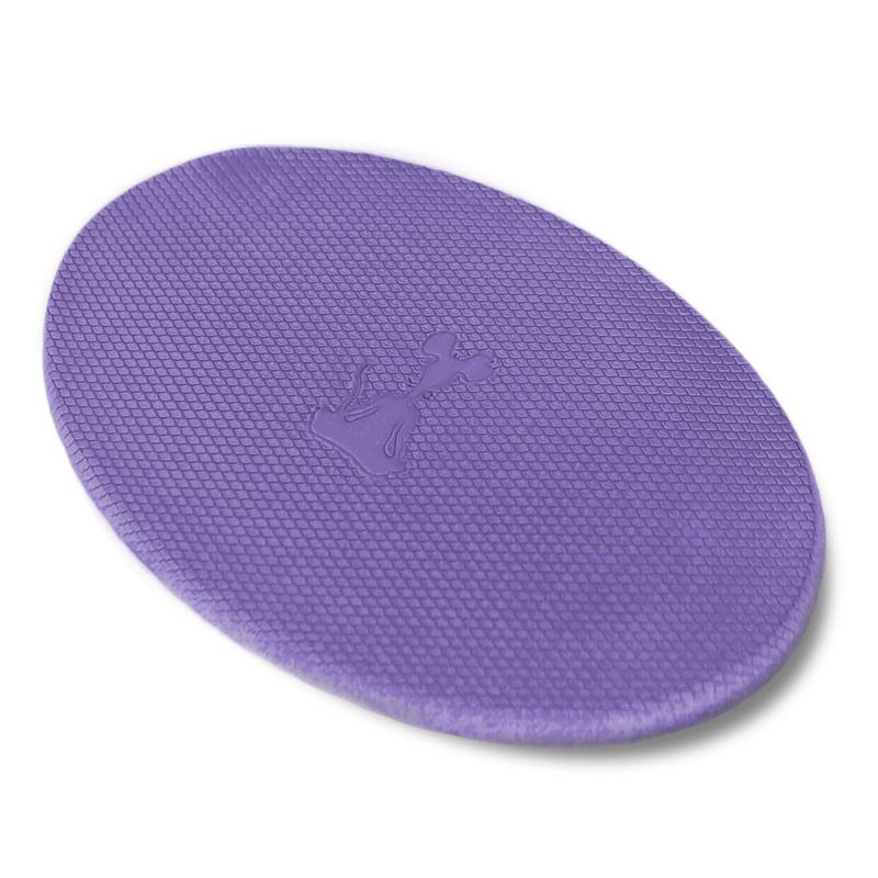 Purple yoga kneeling pad