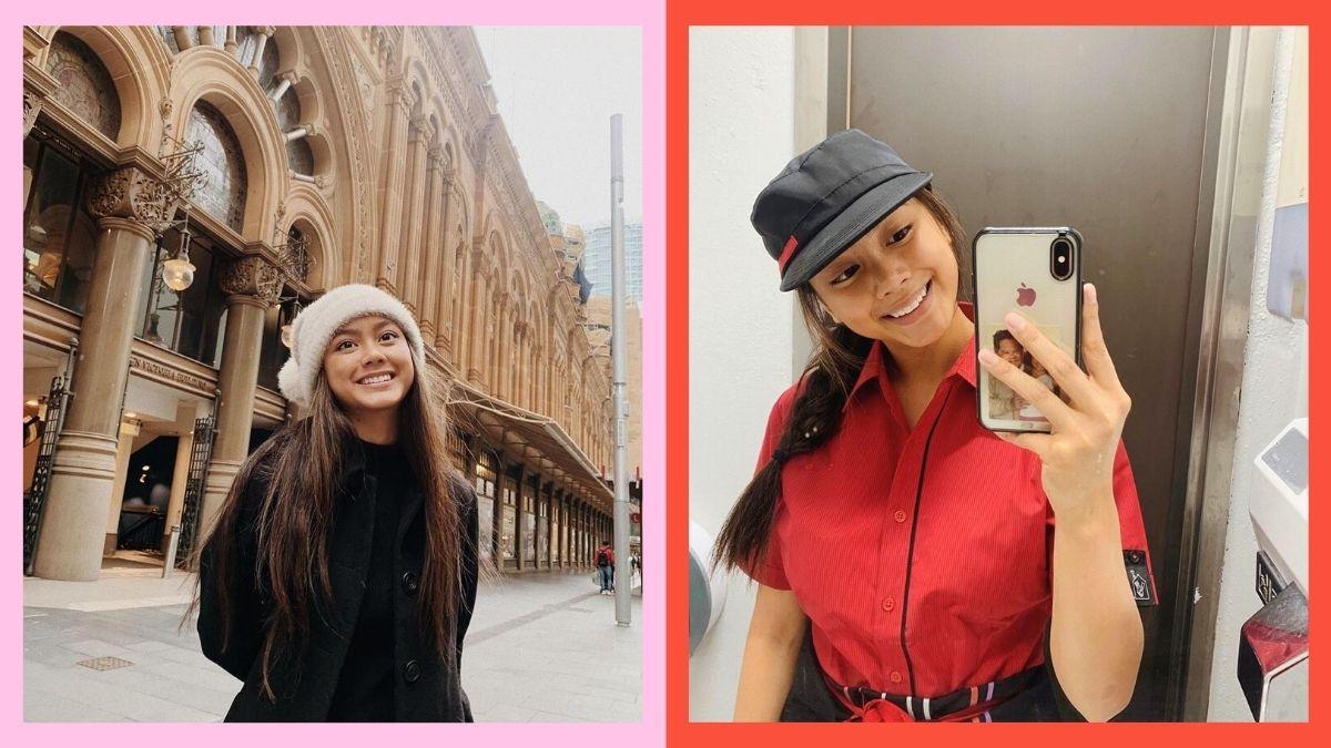 Ylona Garcia now works at a McDonald's in Australia.
