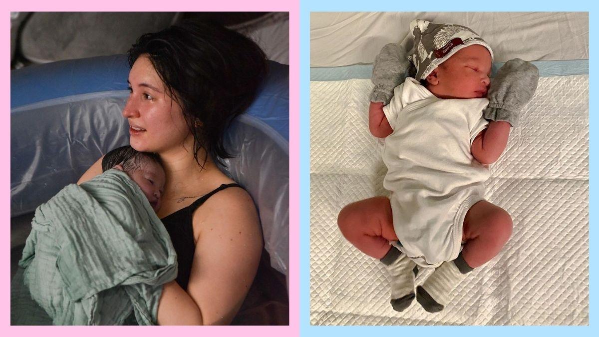 Coleen Garcia and baby Amari