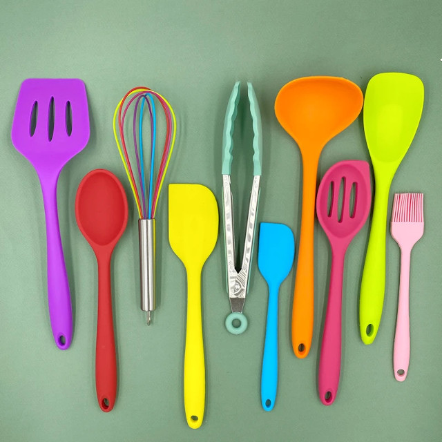 Where To Buy Rainbow-Colored Baking And Cooking Utensils