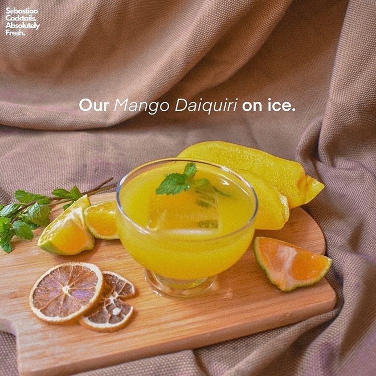 Mango Daiquiri cocktail