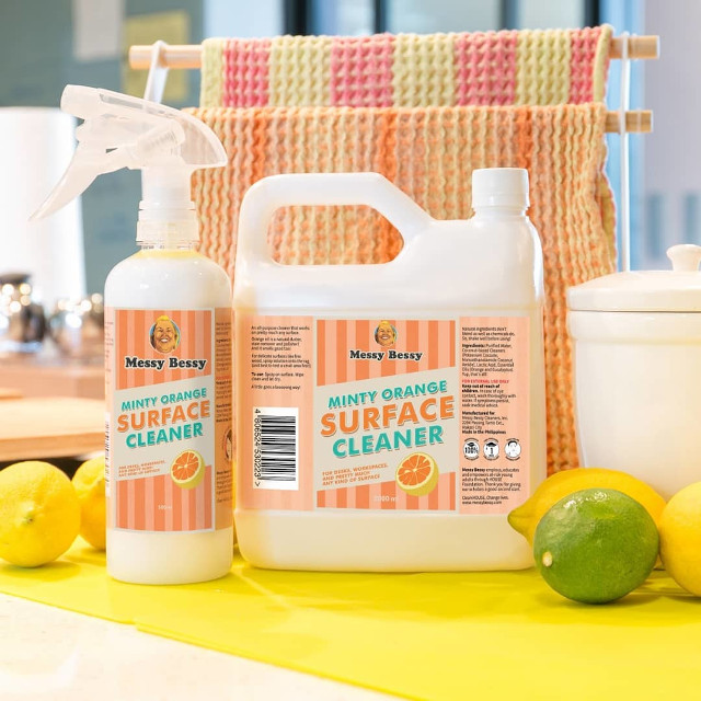 Best Surface Cleaners: Messy Bessy Minty Orange Surface Cleaner