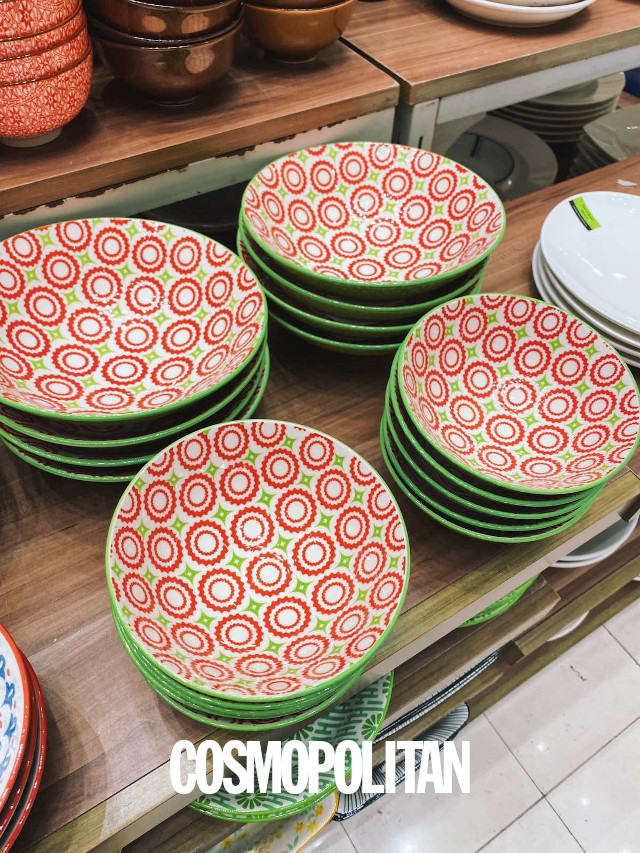 SM Home Colorful Plates and Bowls