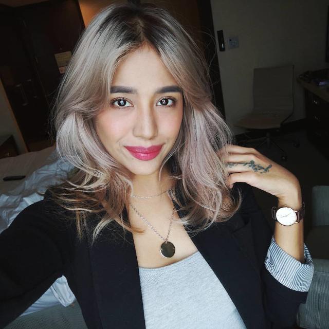 Blonde Hair Colors That Look Good On Pinays