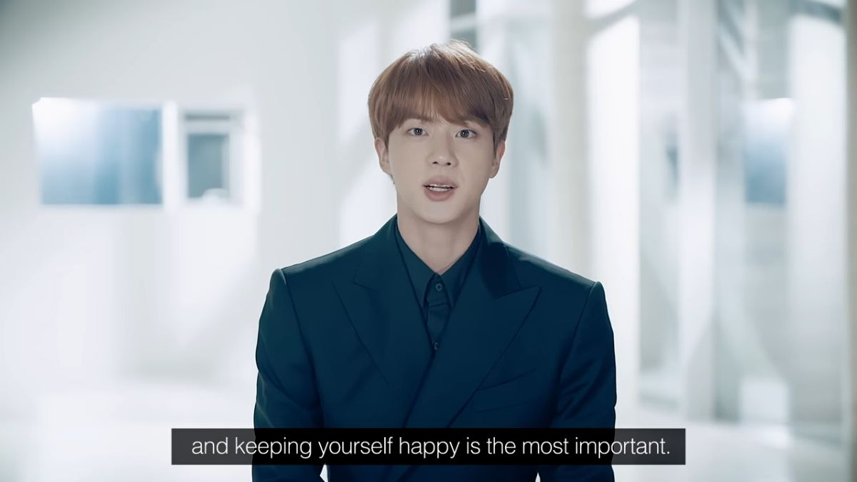 BTS's speech at the 75th UN General Assembly