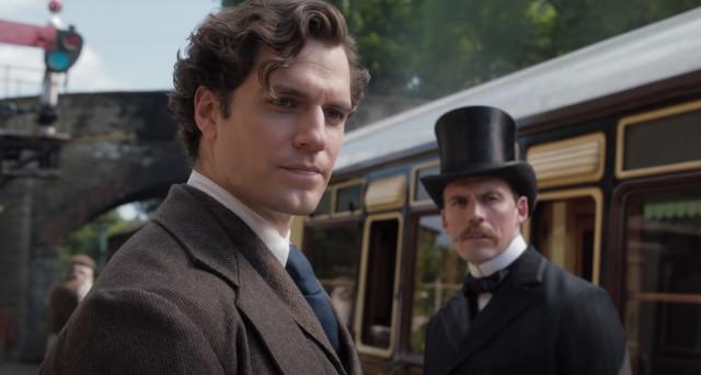 Henry Cavill as Sherlock Holmes