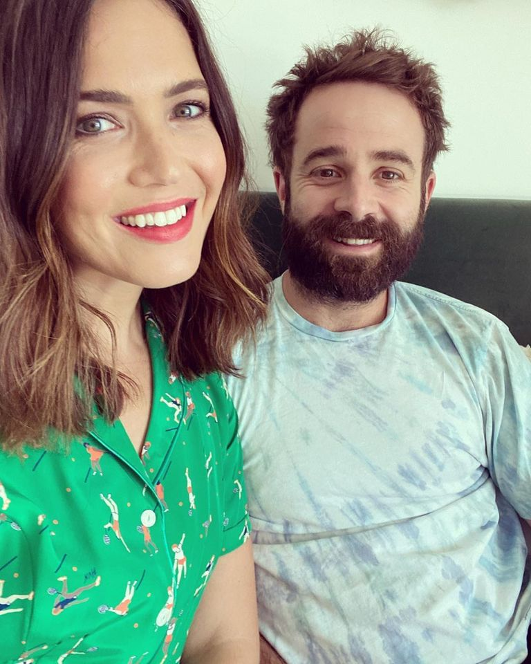 Mandy Moore and husband Taylor Goldsmith