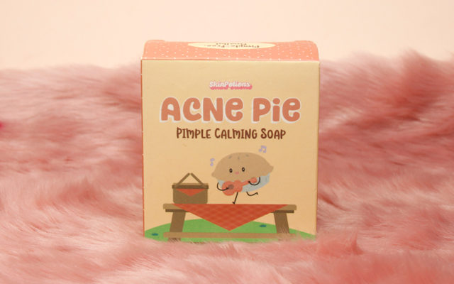 Best Treatments For Acne On The Chest: Skin Potions Acne Pie Pimple Calming Soap