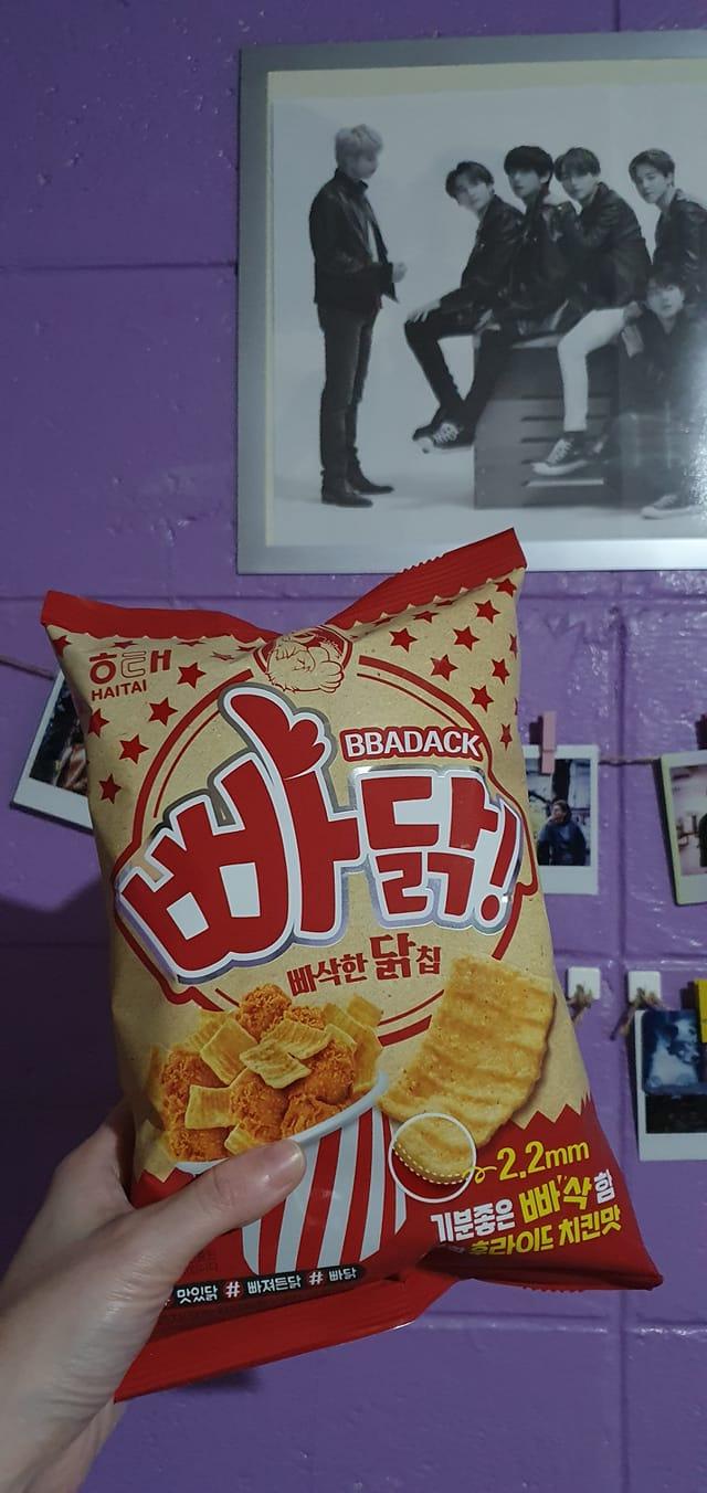 Bbadakk fried chicken chips