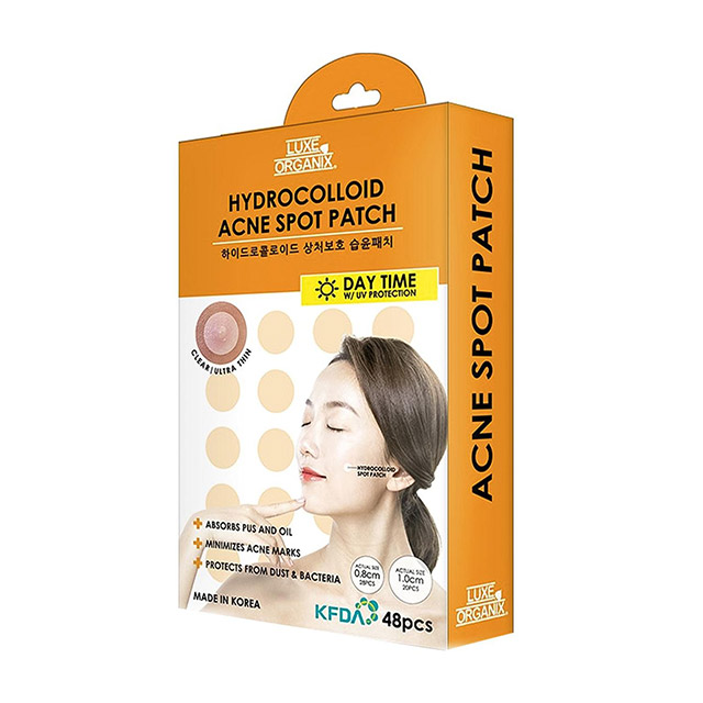Best Treatment For Acne On The Neck: Luxe Organix Hydrocolloid Acne Patch