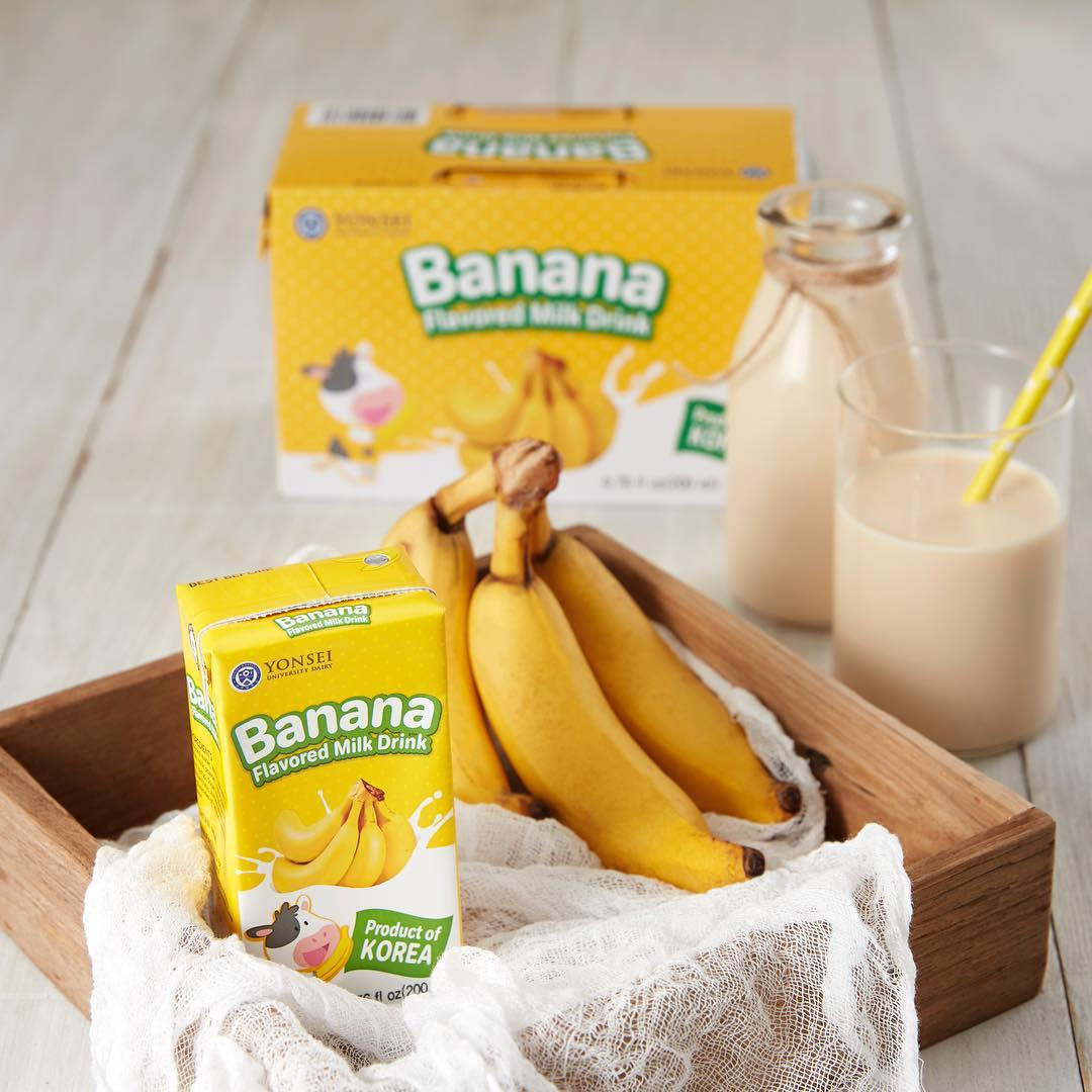 Yonsei banana milk