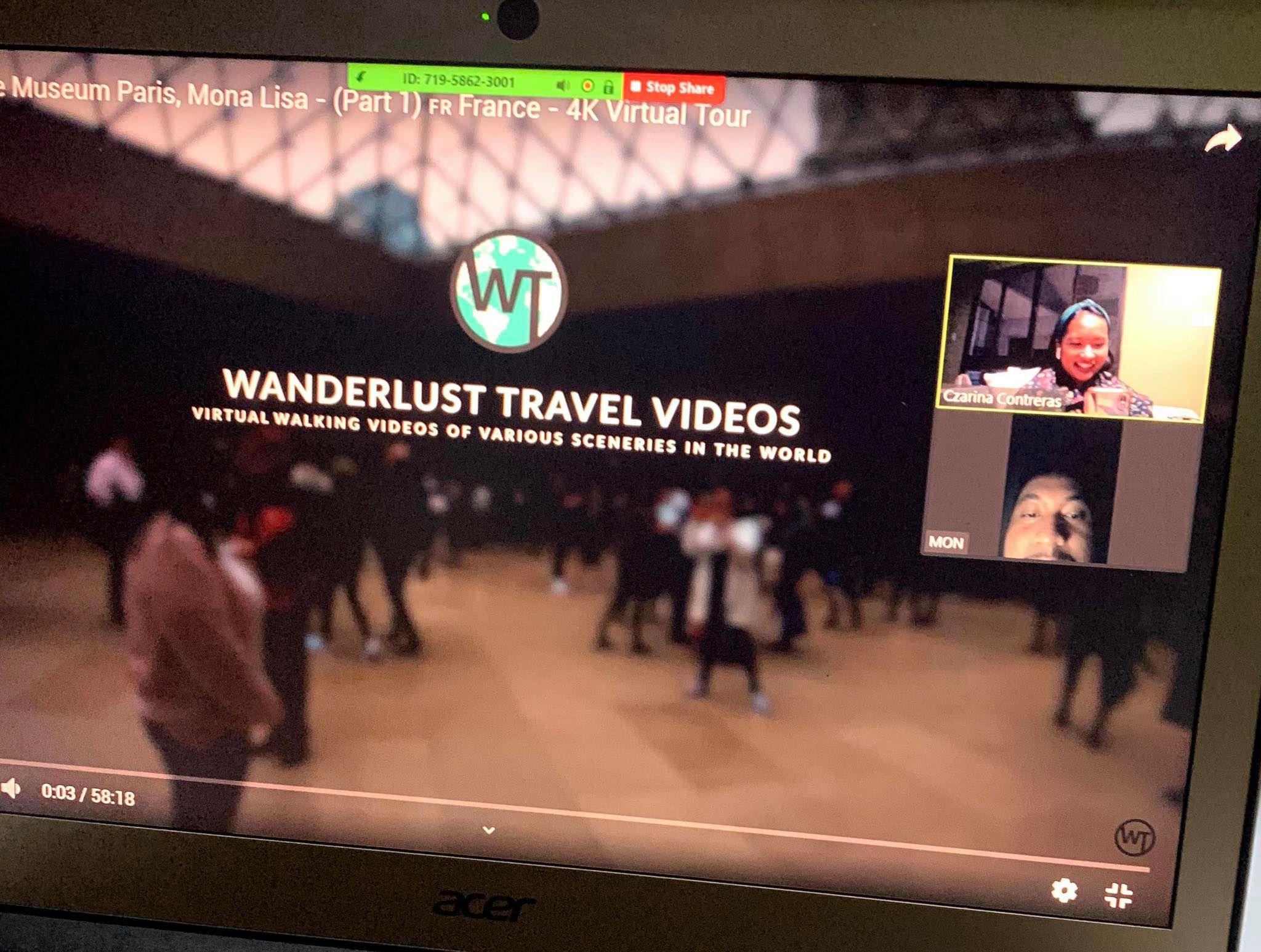 Paris virtual tour