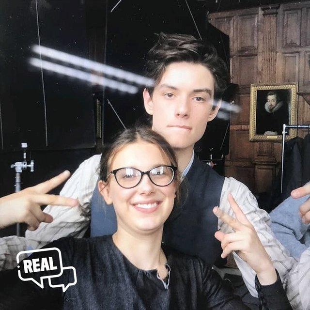 enola holmes behind-the-scenes