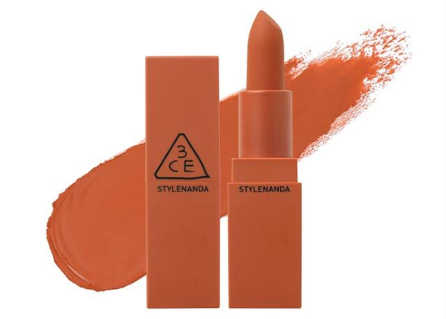 Best Matte Lipsticks: 3CE Matte Lip Color in Baked Orange