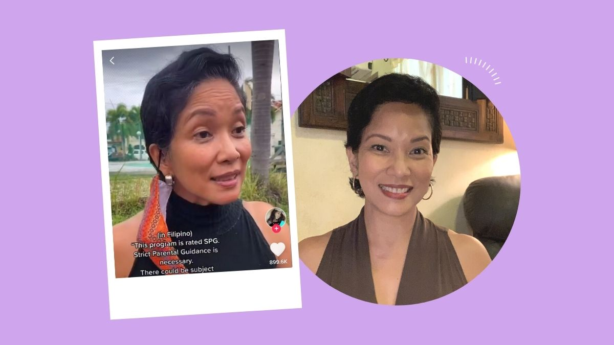 Neneng Arceo, voice behind the MTRCB announcement