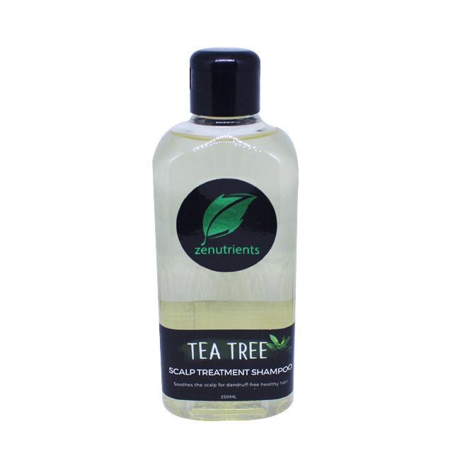 Acne On The Scalp Home Remedy: Zenutrients Tea Tree Scalp Treatment Shampoo