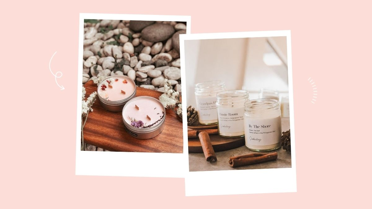 A list of aesthetic candles you can shop from online stores and Instagram.