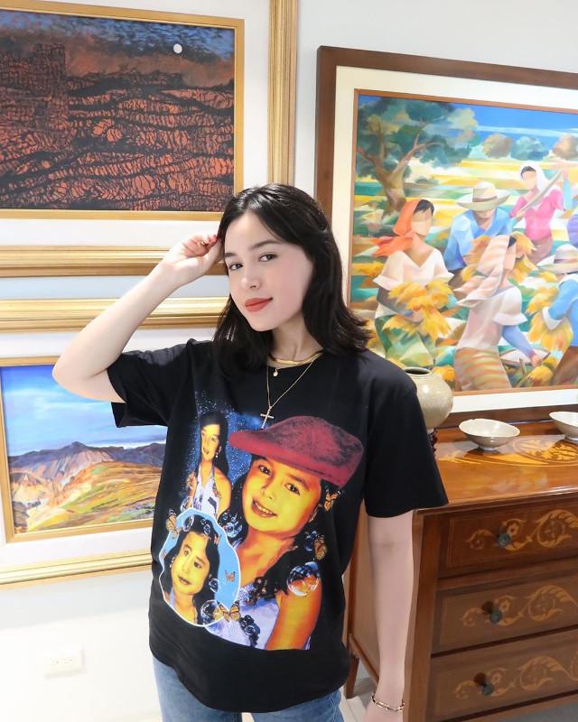 Claudia Barretto Customized T Shirt