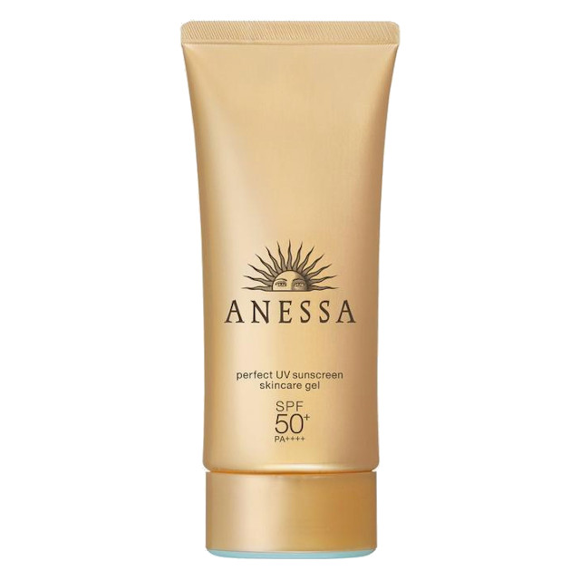 Acne Scar Remedy and Treatment: ANESSA Perfect UV Sunscreen Skincare Gel