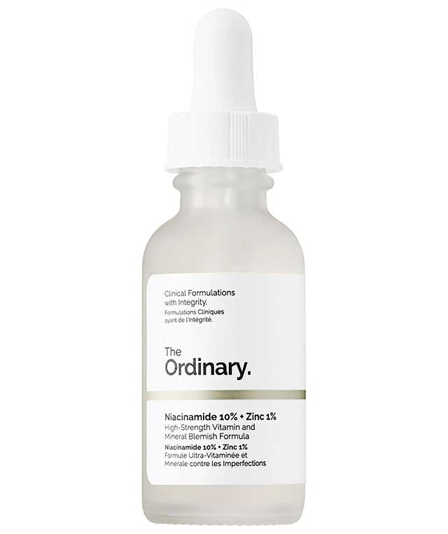 Acne Scar Remedy and Treatment: The Ordinary Niacinamide 10% + Zinc 1%