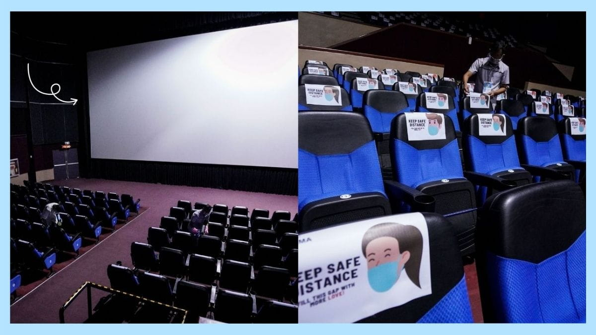 SM City Taytay disinfecting cinemas and movie theaters before reopening