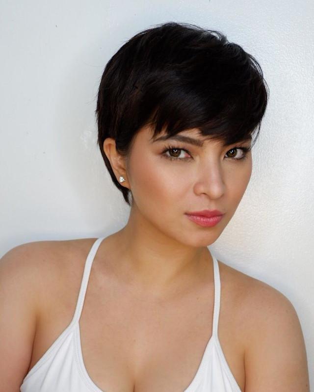 Best Celebrity Short Hair Transformation: Angel Locsin's Pixie Cut