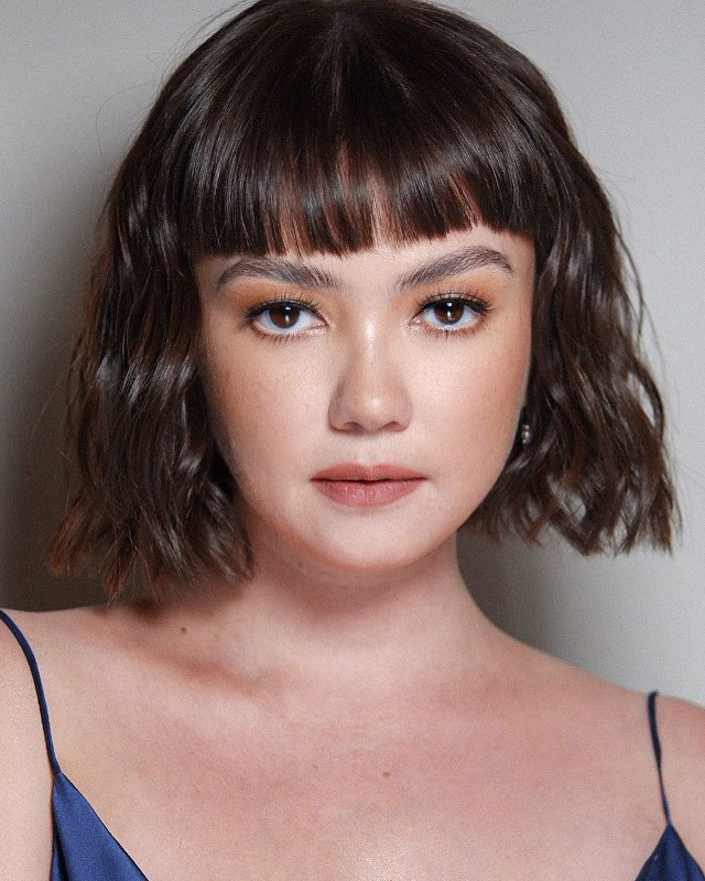 Best Celebrity Short Hair Transformation: Angelica Panganiban's Micro Bangs and Bob Haircut