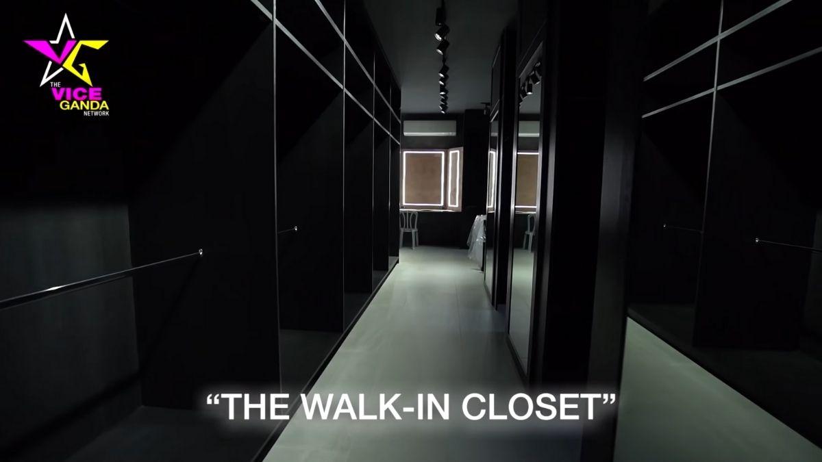 Vice Ganda house tour: walk-in closet