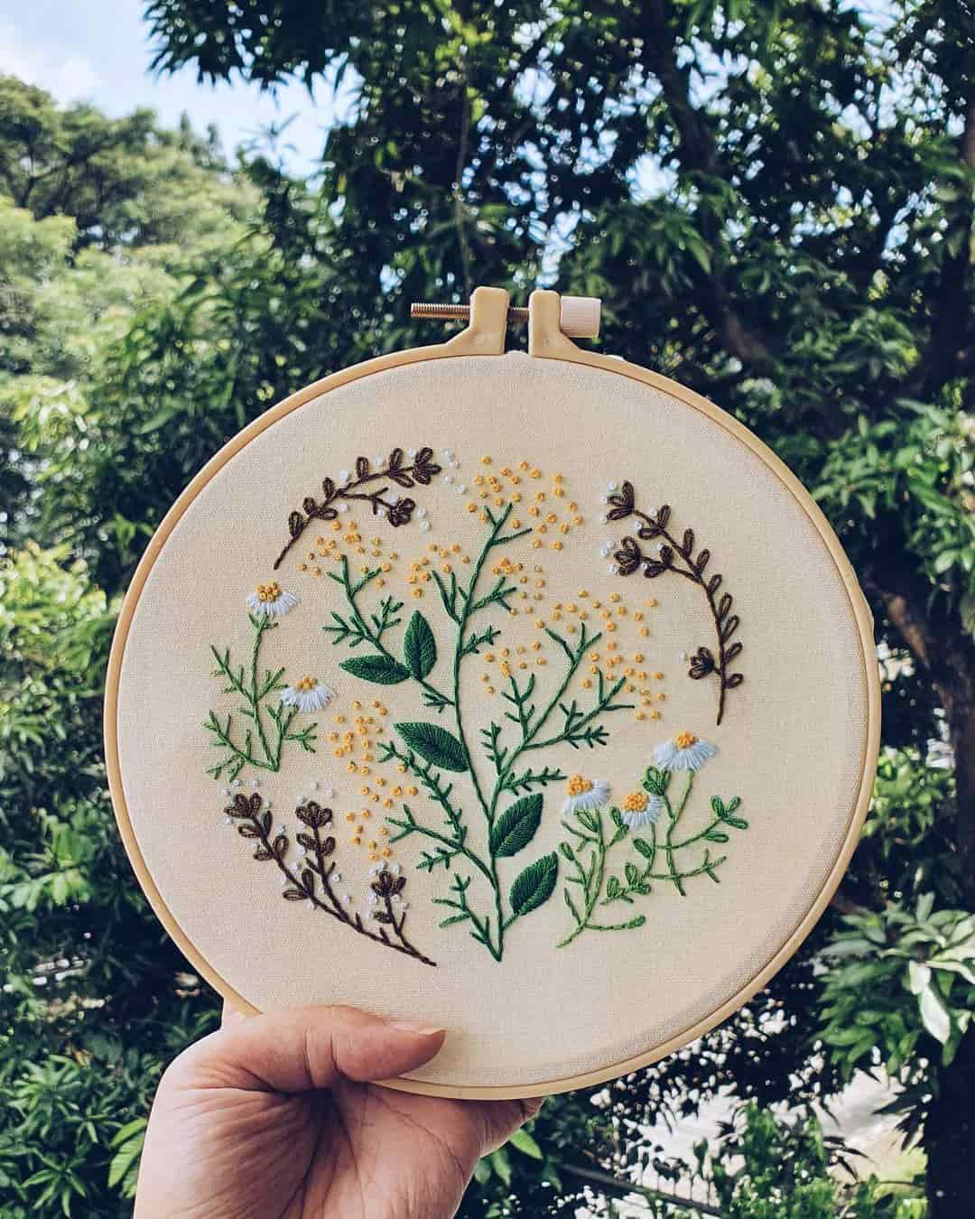 Embroidery kit from Burda and You