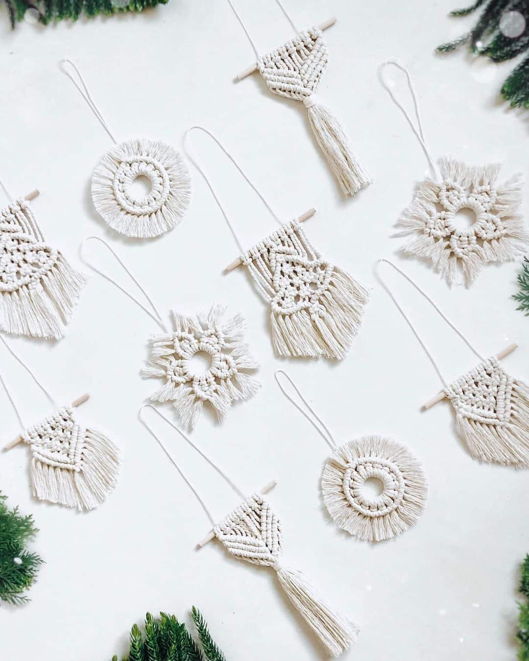 Crochet Christmas ornaments
