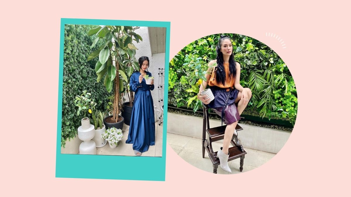 A quick look at Heart Evangelista's plant collection at home.