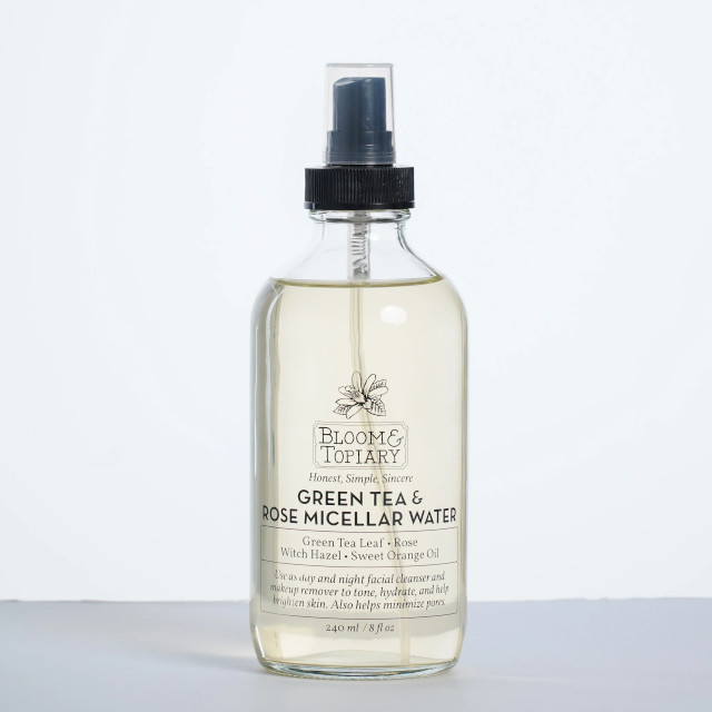 Bloom and Topiary Green Tea and Rose Micellar Water