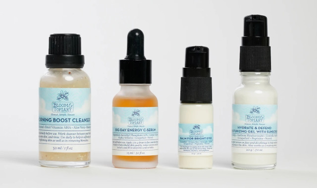 Bloom and Topiary Top of the Morning Skincare Kit