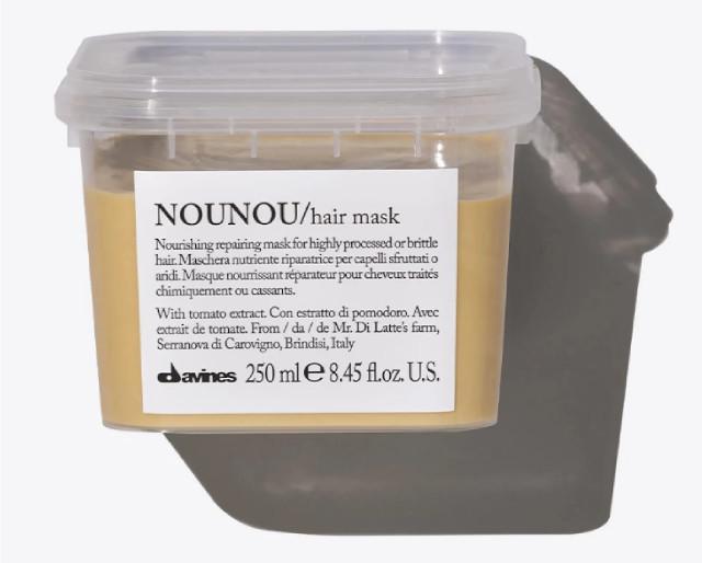 How To Repair Damaged Hair: Davines NOUNOU Mask: Nourishing Repairing Mask