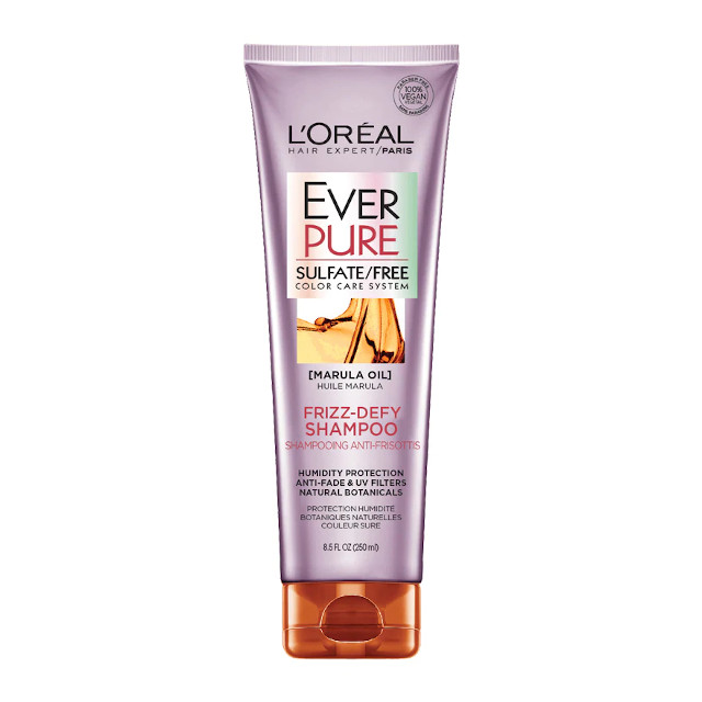 How To Repair Damaged Hair: L'Oreal Ever Pure Frizz-Defy Shampoo