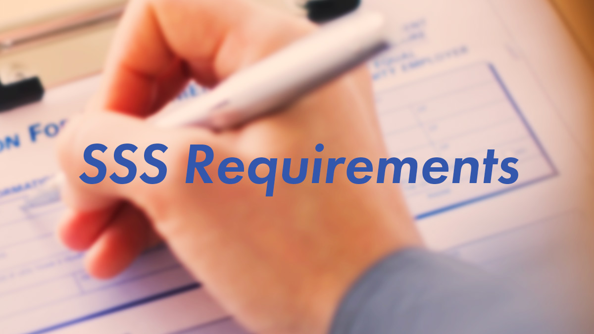 How To Get Your SSS Number And ID