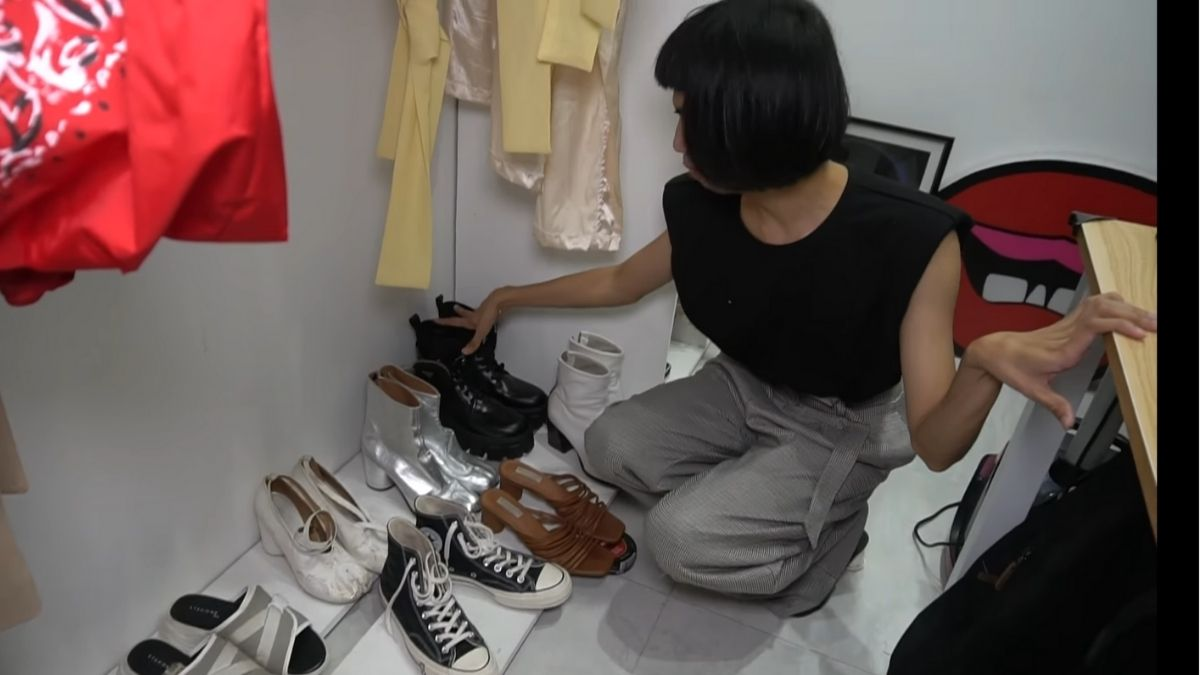 Mimiyuuuh house tour: shoe collection
