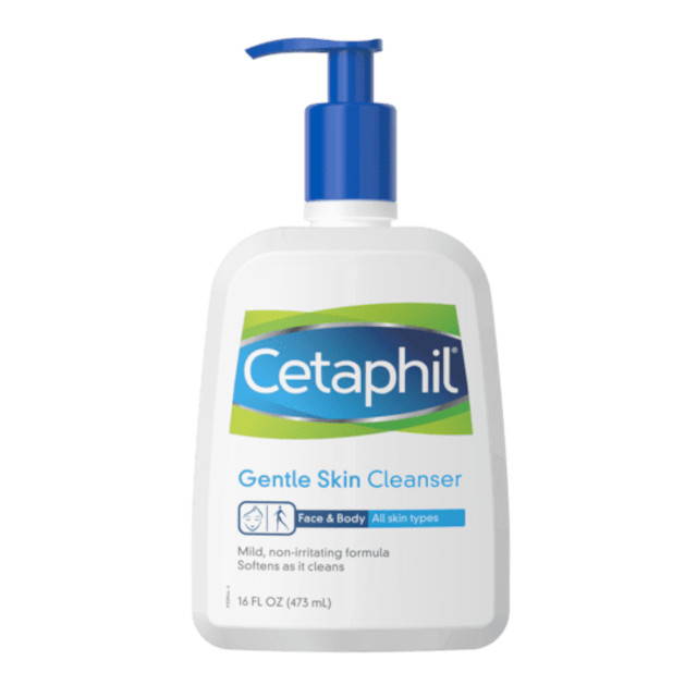 Best Cleanser for skin: Cetaphil Gentle Skin Cleanser