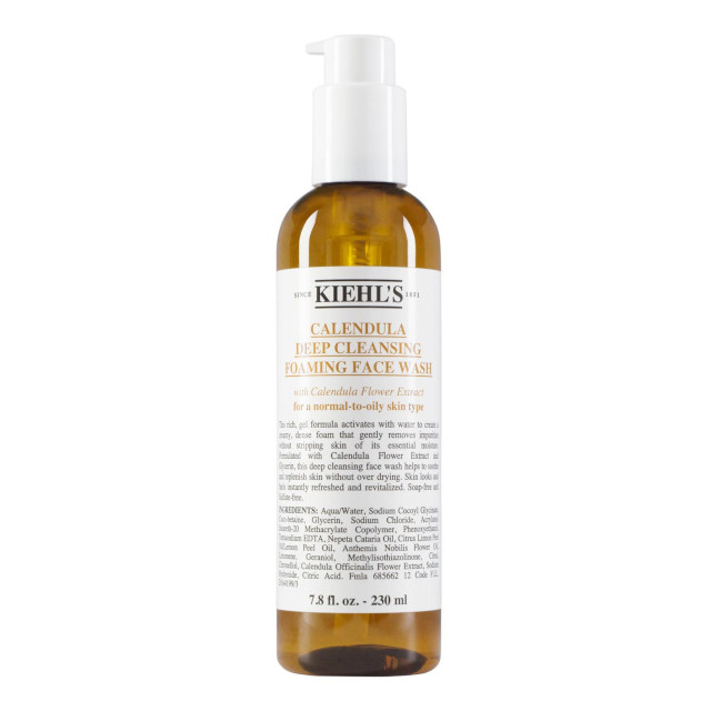Best Cleanser for Skin: Kiehl's Calendula Deep Cleansing Foaming Face Wash