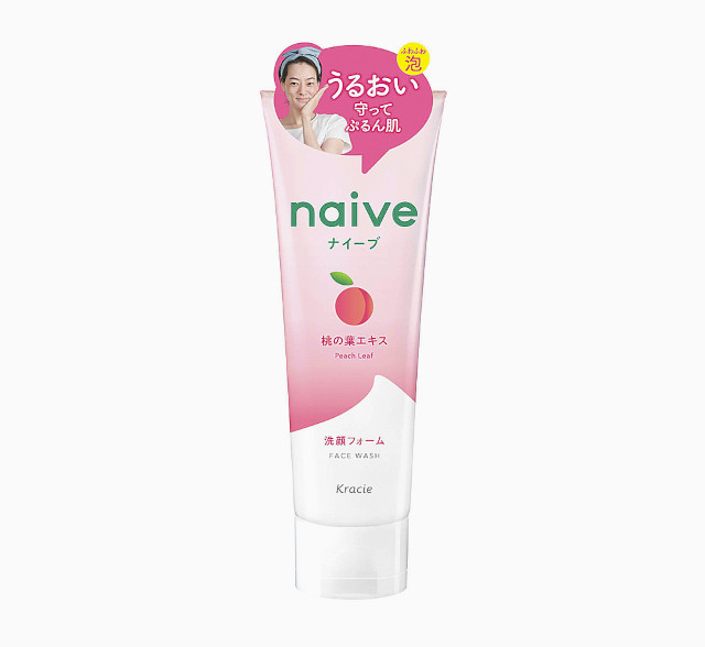 Best Cleanser For Skin: Naive Peach Leaf Foaming Face Wash