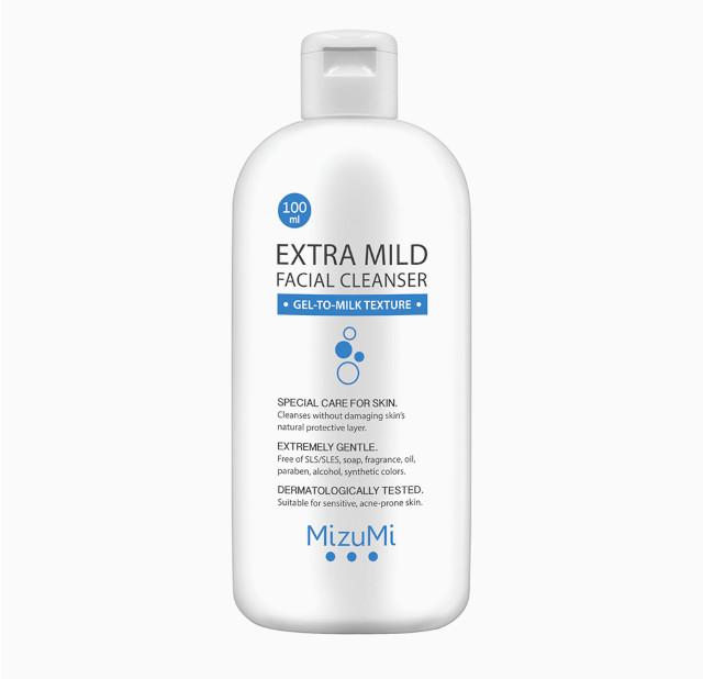 Best Cleanser for Skin: Mizumi Extra Mild Facial Cleanser