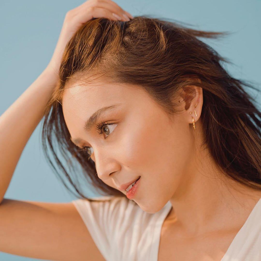 Kathryn Bernardo's ear piercings