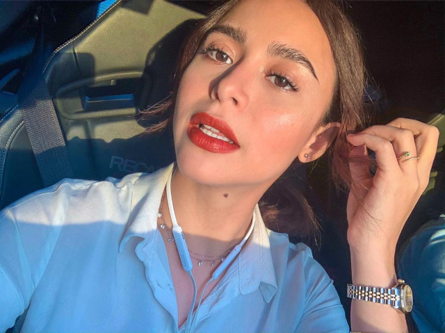 Yassi Pressman Red Lipstick