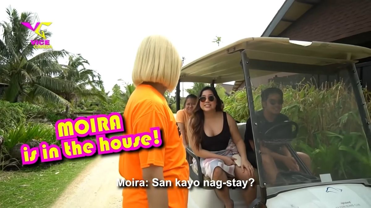 Vice Ganda in Balesin during Typhoon Ulysses: meeting Moira dela Torre