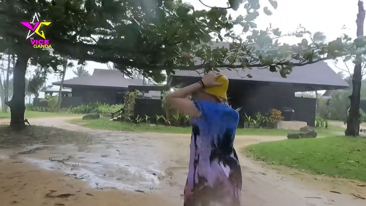 Vice Ganda in Balesin during Typhoon Ulysses