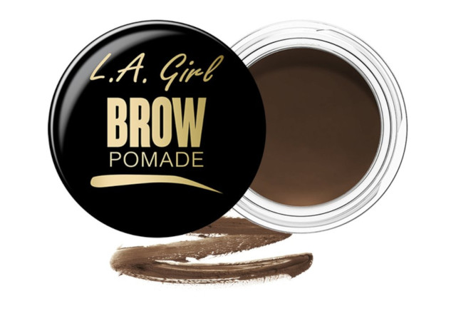 How to get bushy eyebrows: LA Girls Brow Pomade in Soft Brown