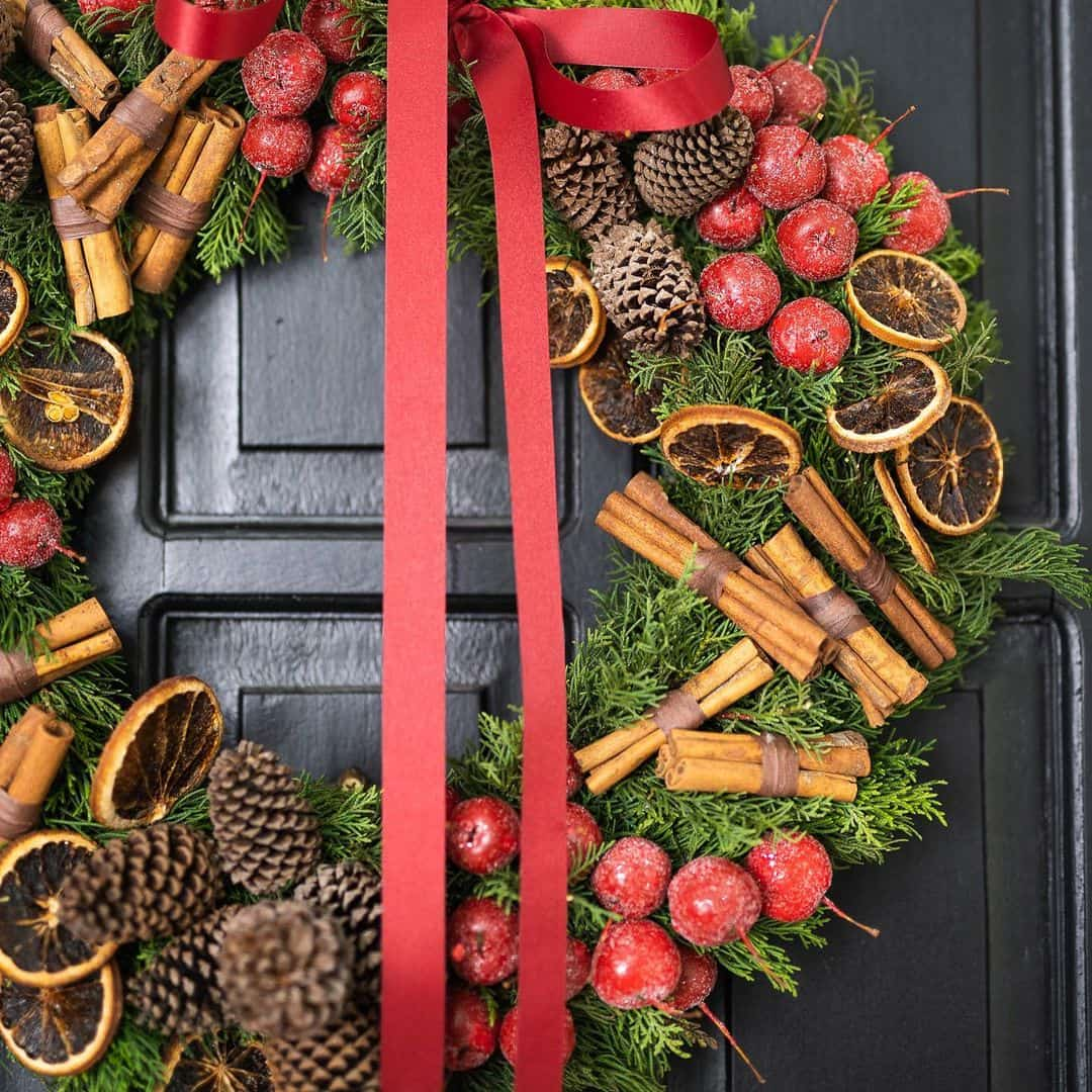 Apple Cinnamon Spice Wreath