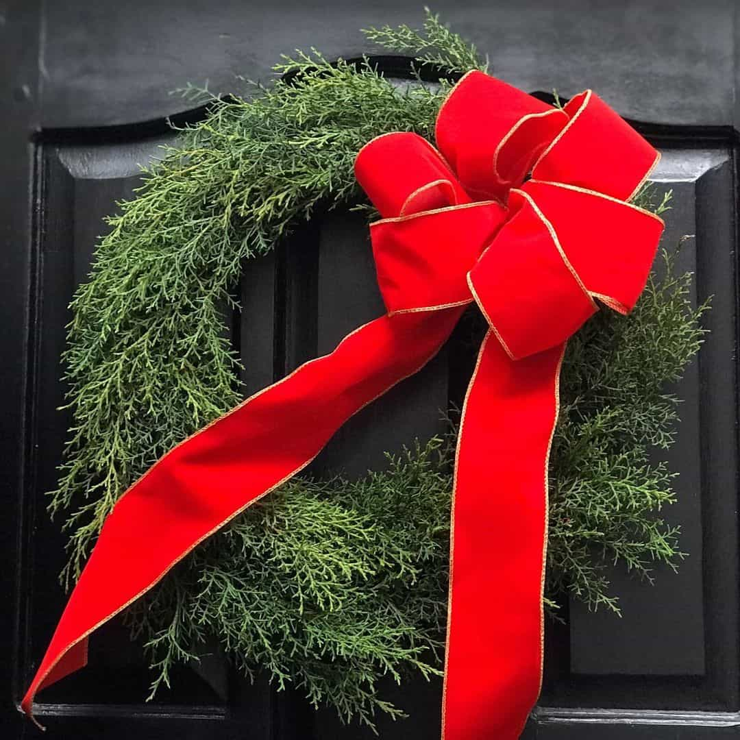 Classic Cypress Wreath
