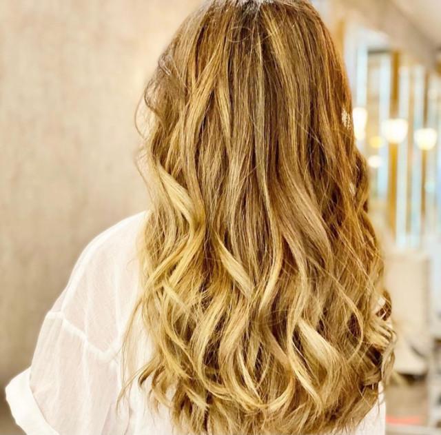 Erika Rae Poturnak's Ombre Hair Color