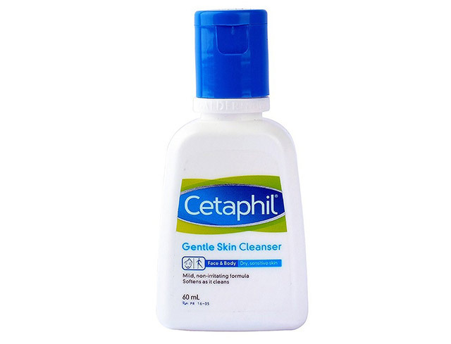 Routine for clear skin: Cetaphil Gentle Skin Cleanser